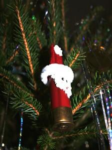 shot gun santa